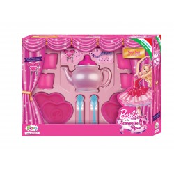 TEA SET IN METALLO BARBIE
