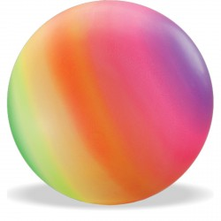 PALLONE ARCOBALENO FLUO D 140