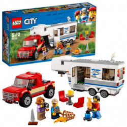 LEGO City Pickup e Caravan...